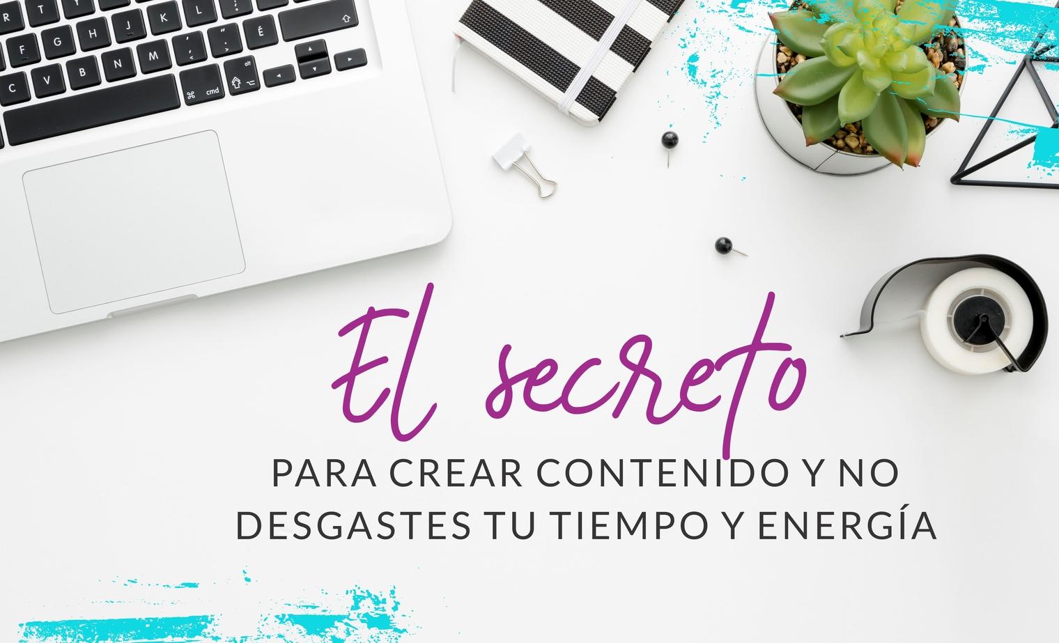Episodio #4: El Secreto Para Crear Contenido y No Desgastes tu Tiempo y Energía