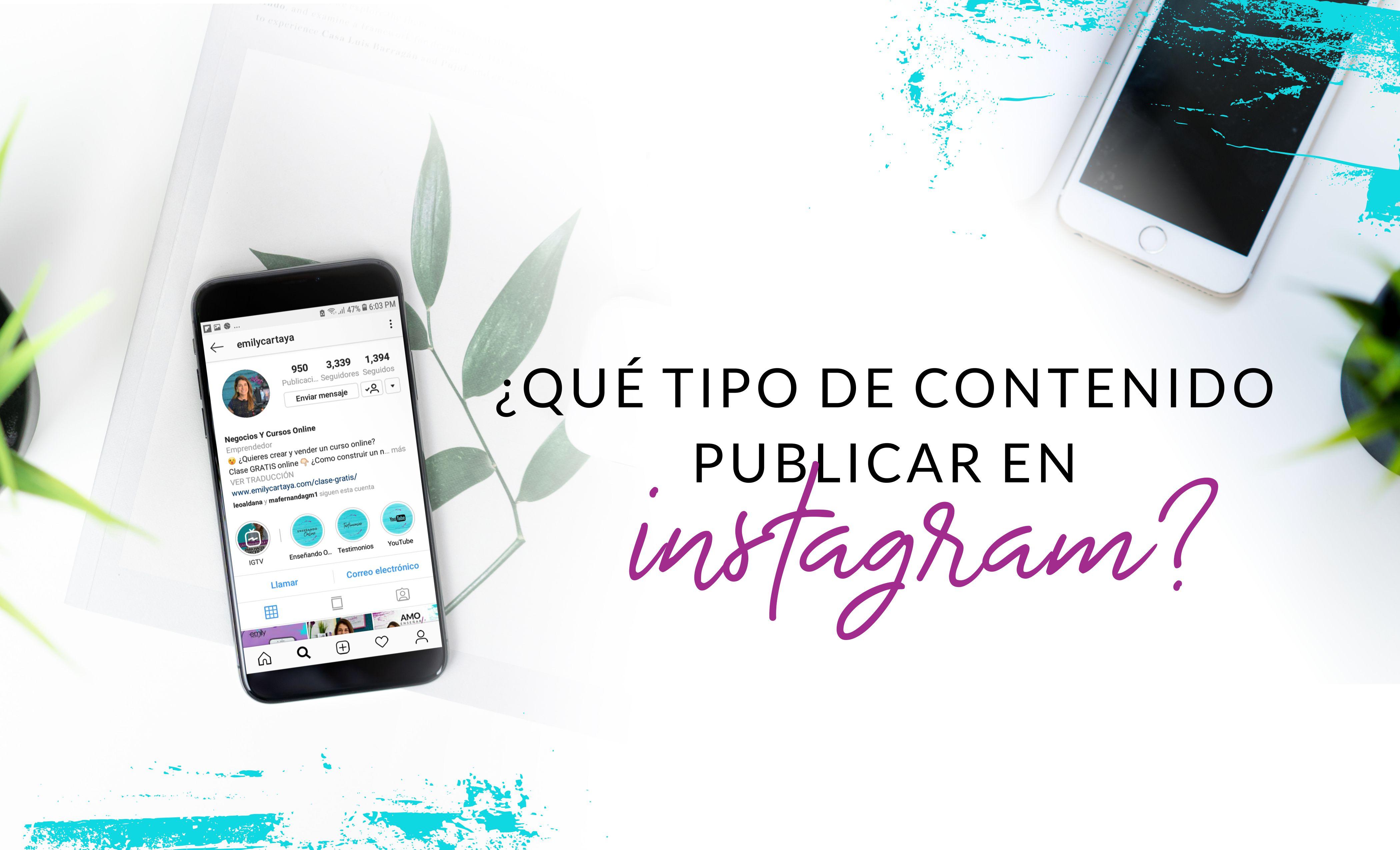 Episodio #12: ¿Qué tipo de contenido publicar en Instagram?