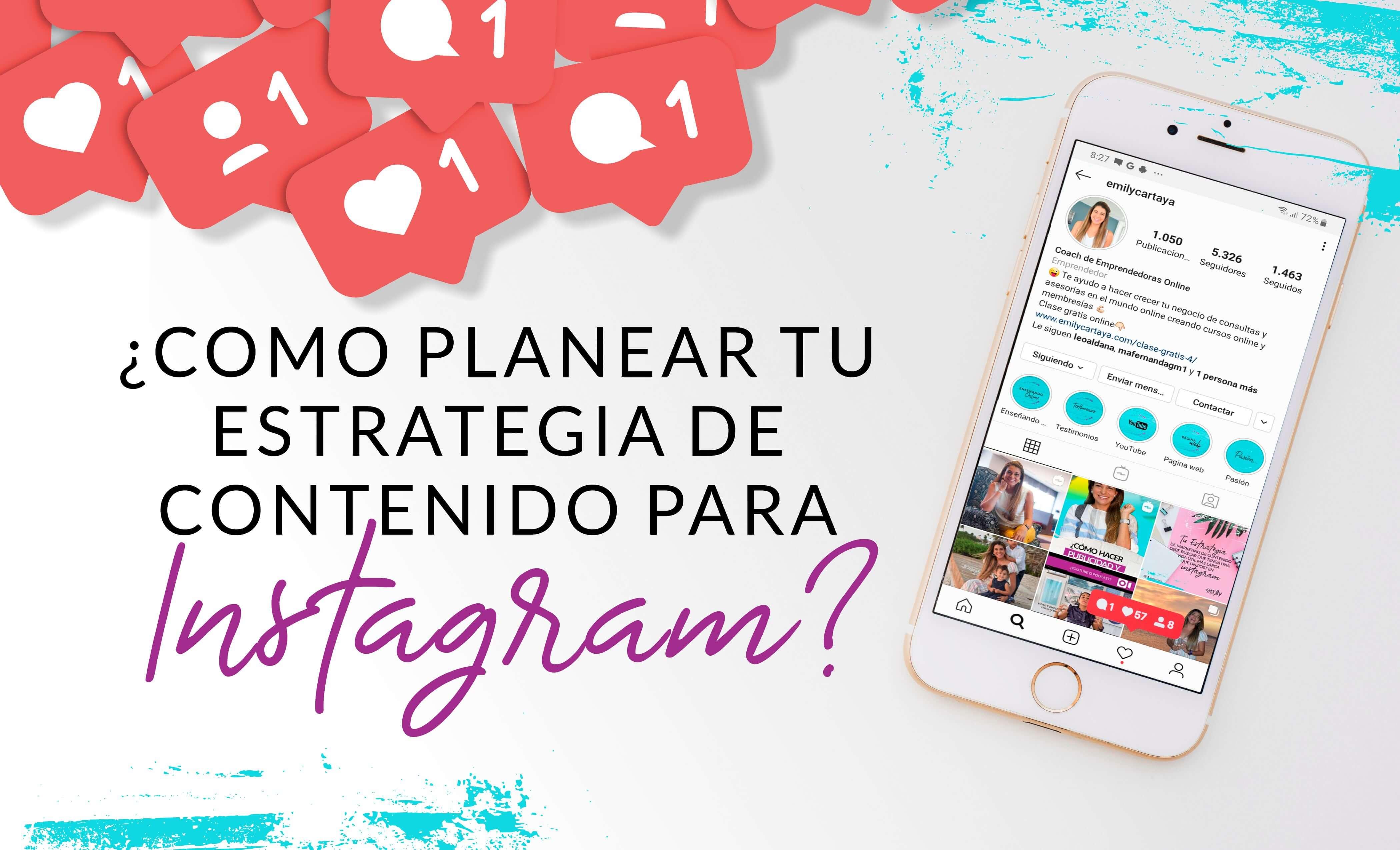 Episodio #34: ¿Cómo planear tu estrategia de contenido para Instagram?
