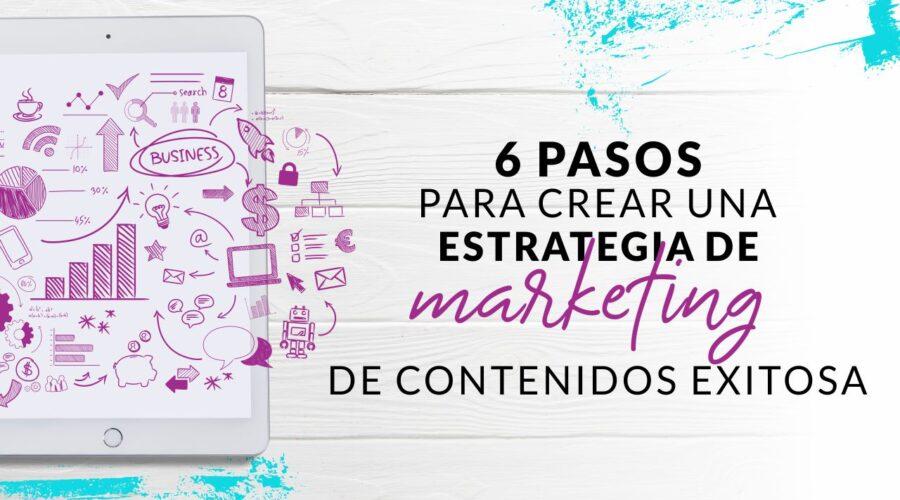 Episodio 74: 6 Pasos para crear una estrategia de marketing de contenidos exitosa