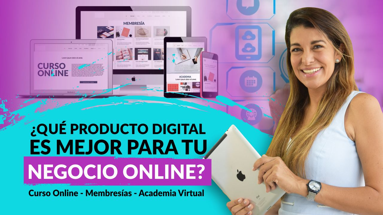 ¿Qué producto digital es mejor para tu negocio online?